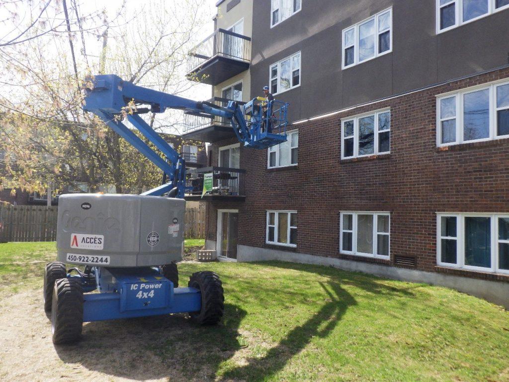 Inspection des façades