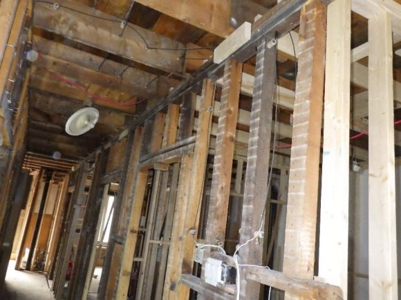 Load-bearing wall to be removed
